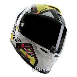 Scorpion Exo-r1 Air Alvaro Bautista Replica Full Face Motorcycle Helmet