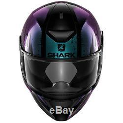 Shark D-Skwal Dharkov KVX Full Face Moto Motorcycle Ladies Helmet All Sizes