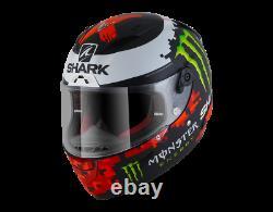 Shark Race-R Pro Replica Lorenzo Monster MAT KRG Helmet Motorbike SALE