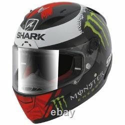 Shark Race-R Pro Replica Lorenzo Monster MAT KRW Helmet Motorbike SALE