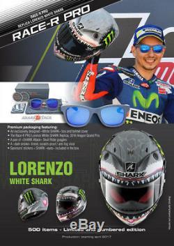 Shark Race R Pro Shark Monster SWG Carbon Motorcycle Full Face Helmet Mat NEW