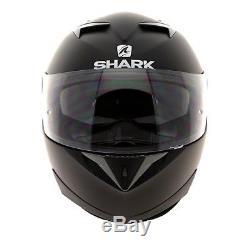 Shark S900 Dual Special Edition Motorcycle Helmet Matt Black