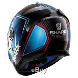 Shark Spartan Guintoli Carbon Fibre Motorcycle Motorbike Helmet XS M L XL