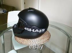 Shark Vancore Dual Black Motorcycle Helmet, Size L, Anti Fog Zarl Zeiss Lenses