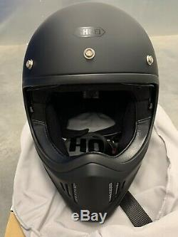 Shoei Ex-Zero (Used Once) Matt Black Size Large 59-60cm Motorcyle Helmet