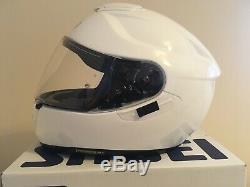 Shoei GT Air Helmet, Medium, unisex Gloss White, used