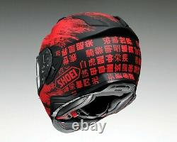Shoei GT Air II Ogre Sports Full Face Motorcycle Bike Helmet Size Large 59-60cm