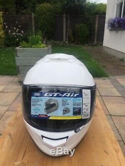 Shoei GT-Air Motorbike Helmet Size XL White Full Face GT Air