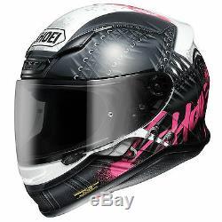 Shoei Helmet NXR Seduction TC7 Motorcycle Full Face Crash Helmet Large