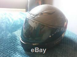 Shoei NXR BRIGAND / Dystopia TC 5 Skull web & rose motorcycle Helmet QP