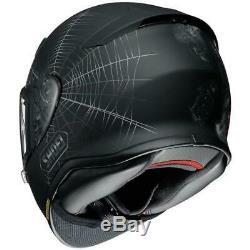 Shoei NXR Dystopia TC5 Motorcycle Crash Helmet Matt Black