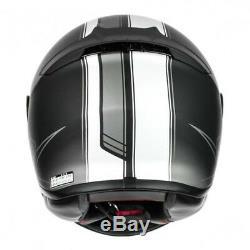 Shoei NXR Flagger TC5 Full Face Motorcycle Motorbike Helmet Black White Sale