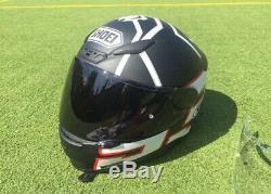 Shoei NXR Marquez Black Ant. Size M