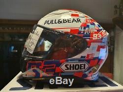 Shoei NXR Marquez Power Up! TC1, Size Medium, Motorcycle Helmet
