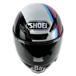 Shoei NXR Recounter Red Blue TC10 Full Face Motorcycle Helmet Sale RRP £469.99