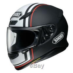 Shoei NXR Recounter Red White TC5 Full Face Motorcycle Helmet Sport Touring