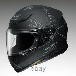 Shoei NXR SHOEI NXR Dystopia TC 5 Skull web & rose motorcycle Helmet QP