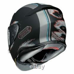 Shoei NXR Tale Matt Black Grey Red TC5 Full Face Motorcycle Helmet Sport Touring