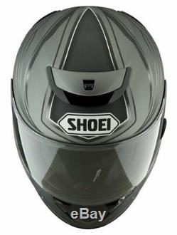 Shoei Quest Airfoil Silver & Black Full Face Motorcycle Helmet Small (55-56cm)