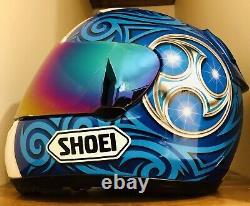 Shoei X-11 Kagayama 2 TC-2 Helmet L-Size Blue Limited Edition As New Cond