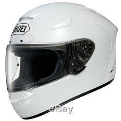 Shoei X Spirit 2 Gloss White Full Face Motorcycle Helmet Extra Small
