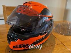 Shoei X Spirit 3 KTM colour scheme Race Helmet