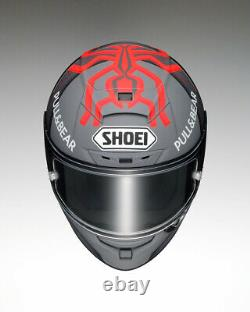 Shoei X-Spirit 3 MM93 TC1 Black Concept 2.0 Full Face Motorcycle Crash Helmet QP