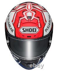 Shoei X-Spirit 3 Marquez 5 Red Anth TC-1 Motorcycle Motorbike Helmet