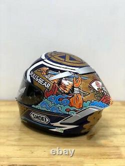 Shoei X14 X-Spirit 3 Motorcycle Full Face Helmet Lucky Cat Marc Marquez Motegi 3