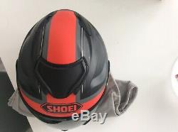 Shoei helmet, Gt 2 Affair, Dark & Clear Visor And Pinlock, Bag (. Large)
