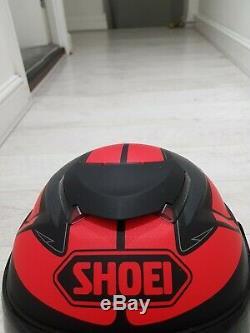 Shoie Gt Air Full Face Carbon Helmet With built In Visor