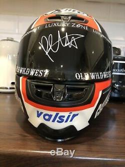 Signed Danilo Petrucci X-Lite X-803rr Carbon Ducati Motogp Replica Helmet. Rare