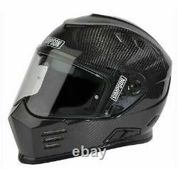 Simpson Ghost Bandit Venom Helmet Ece2205 Road Legal Carbon UK S M L XL XXL