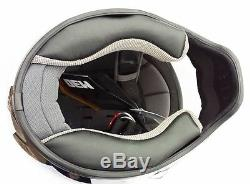 Simpson M30 Bandit Satin Carbon Fibre Helmet Dot Approved S-xl