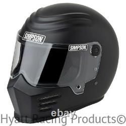 Simpson Outlaw Bandit Motorcycle Helmet Snell M2015 All Sizes & Colors