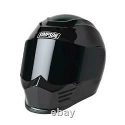 Simpson SPBXL2 Speed Bandit Full Face Motorcycle Helmet Size X-Large Matte Black