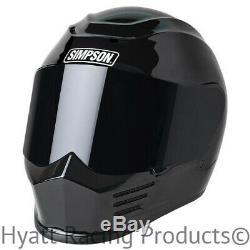 Simpson Speed Bandit Motorcycle Helmet FMVSS 218 & DOT All Sizes & Colors