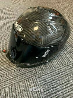 Simpson Venom Gloss Carbon Fibre Motorbike Full Face Helmet