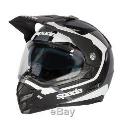 Spada Intrepid Beam Full Face Off Road Adventure Style Helmet Integral Sun Visor