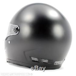 Streetfighter Helmet Bandit Alien 2 Matt Black (ECE 22-05 Road Legal)