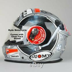 Suomy SR Sport Motorcycle Full Face Helmet Mugello Race Ready