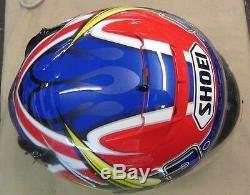 Used Shoei X-Eleven Sebastian Porto Motorcycle Helmet Large 12/2003 X-11 Nice