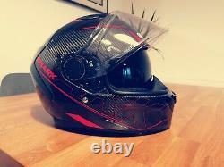 Used motorbike helmets