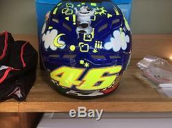 Valentino Rossi Face agv GpTech Full Face Helmet
