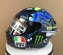 Valentino Rossi Helmet Moto Gp Misano Casco Vr46 Motogp Helm Casque