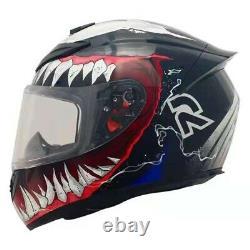 Venom Motorcycle Helmet Full Face DOT Eagle Shark Monster Racing Free Shipping