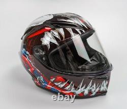 Venom Motorcycle Helmet Lens Full Face DOT Certified Racing Helmet Free Shipping