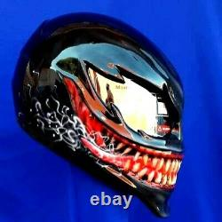 Venom helmet / custom motorcycle helmet. DOT & ECE worldwide Free shipping