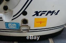 Vintage 1978 Bell XFM-1 Full Face Motorcycle Helmet 7 3/4 & Original Box XFM1