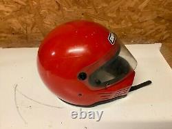 Vintage Simpson M30 racing helmet snell 80 motorcycle car racing full face